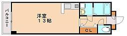 ライジングサンプラザ[4階]の間取り