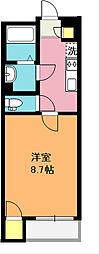 レオネクストグランツ[2階]の間取り
