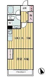 スターヴァレイ3[2階]の間取り