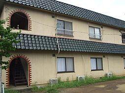 長野県上田市諏訪形の賃貸アパートの外観