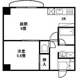 ドミニオンアネックス[11階]の間取り