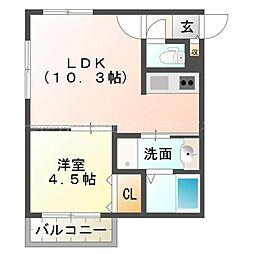 仮)厚別中央1条3丁目MS[3階]の間取り