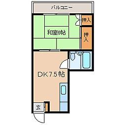 守屋ビル[3階]の間取り