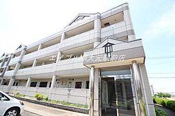 岡山県岡山市南区藤田の賃貸マンションの外観