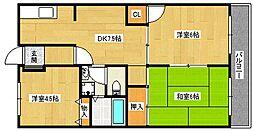 JAセピアII番館[3階]の間取り