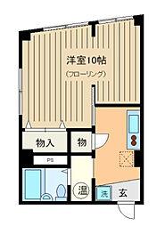 三井ビル[501号室]の間取り