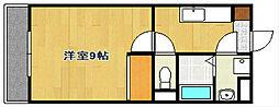 LANDFAIRY[3階]の間取り