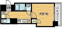 レグゼスタ福島[9階]の間取り