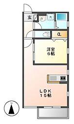 仮)内田橋新築AP[3階]の間取り