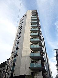 東京都港区東麻布3丁目の賃貸マンションの外観