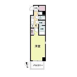 La Douceur心斎橋(旧 COMODA CASA)[0304号室]の間取り