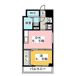 ネストピア箱崎駅前[3階]の間取り