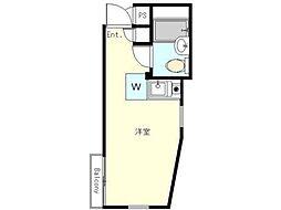 セルべコート高円寺[2階]の間取り