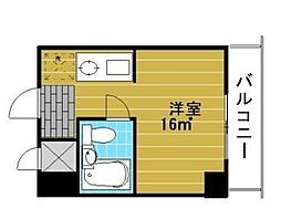 東京都江東区東陽5丁目の賃貸マンションの間取り