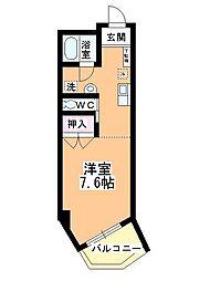 新井ビル[202号室]の間取り