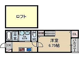 Alpha Villa Next[2階]の間取り