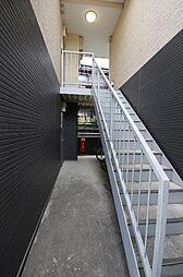 ベルグラード三山[2階]の外観