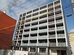岡山県岡山市北区中央町の賃貸マンションの外観