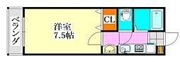 グレイス津田沼[103号室]の間取り