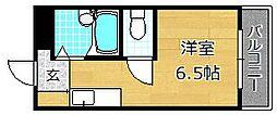 ロータリーマンション走谷[5階]の間取り