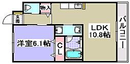 サンキューマンション[102号室]の間取り