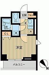 アーデン駒沢大学[0904号室]の間取り