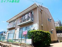 三重県桑名市松ノ木6丁目の賃貸アパートの外観