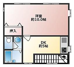 児島ビル[3階]の間取り