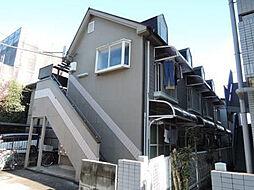 埼玉県鶴ヶ島市富士見1丁目の賃貸アパートの外観