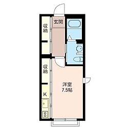 La Maison de Fusa[1階]の間取り