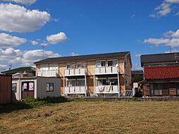岐阜県美濃加茂市加茂野町鷹之巣の賃貸アパートの外観