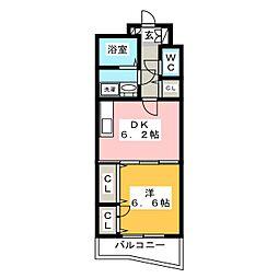 セトル吉塚[2階]の間取り