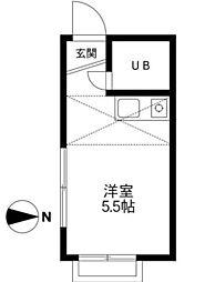 東伏見駅 3.7万円