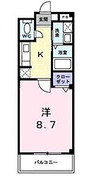 Promenade Fuji[1階]の間取り