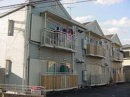 京都府京都市伏見区深草大亀谷万帖敷町の賃貸アパートの外観