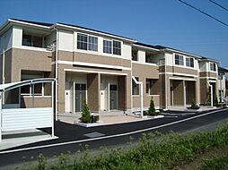 静岡県富士宮市大中里の賃貸アパートの外観