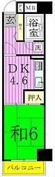 松戸駅前ハイツ[9階]の間取り