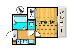 ロッシェル二番館3号棟[3階]の間取り