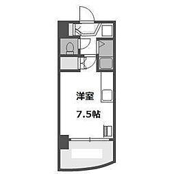 シティスカイコート[4階]の間取り