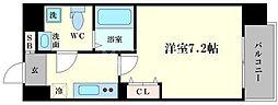 アドバンス大阪ルーチェ[6階]の間取り
