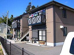 神奈川県秦野市西大竹の賃貸アパートの外観