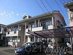 埼玉県朝霞市溝沼6丁目の賃貸アパートの外観