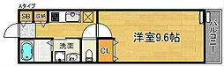 デュオ カンタービレ[1階]の間取り