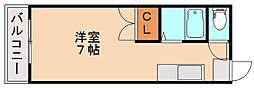 シード90[1階]の間取り