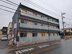 千葉県習志野市本大久保2の賃貸アパートの外観