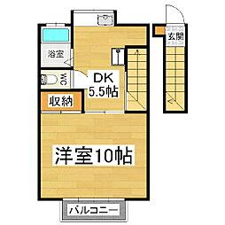 稼ぐ家姫12号[2階]の間取り