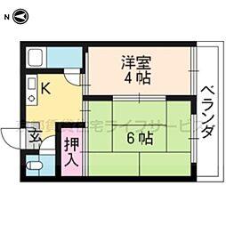 豊国住宅[103号室]の間取り