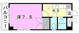 ブラウンハイム3[501 号室号室]の間取り