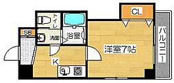 ラグゼ茨木Ⅱ[2階]の間取り