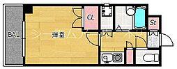 ディアマンテ薬院[10階]の間取り